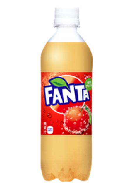 Fanta limited flavor: Juicy Apple