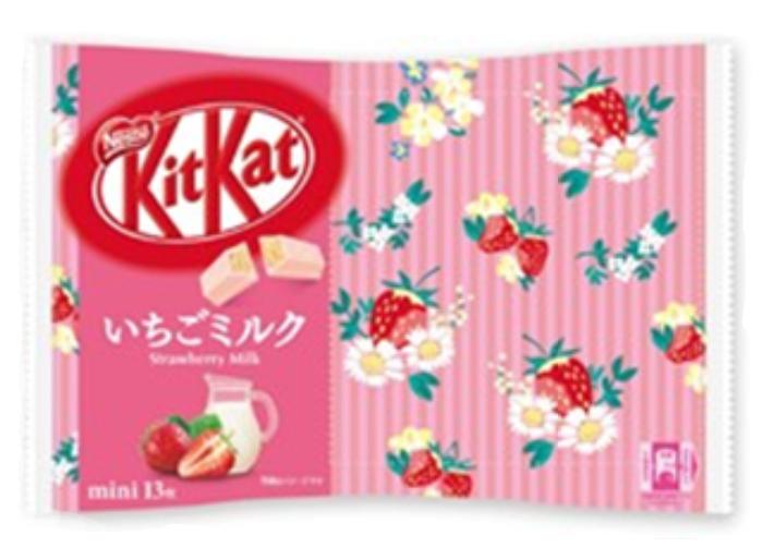KitKat Mini Strawberry Milk